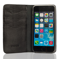 The Classik iPhone 5 Wallet  - Black Inside