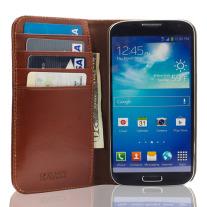 The Scholar Samsung Galaxy S4 Book Wallet - Brown Inside